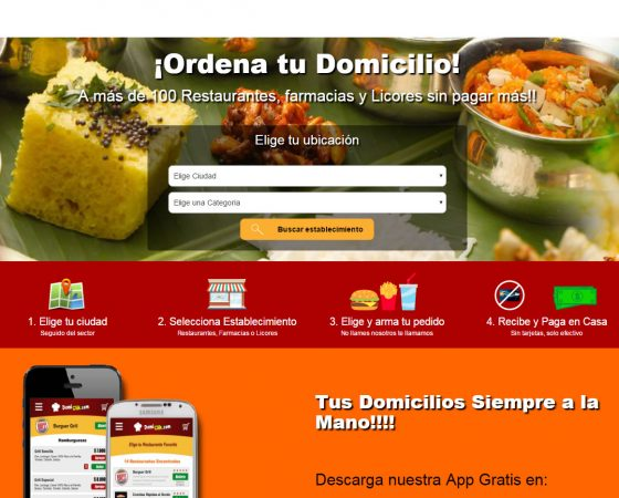 Domiclik Web, Android & iOS App